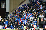 Rangers fans at Ibrox