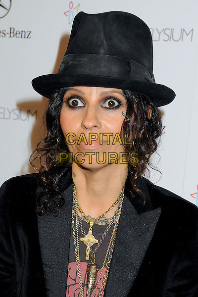 11 January 2014 - Los Angeles, California - Linda Perry. 7th Annual Art of Elysium Heaven Gala held at the Skirball Cultural Center.  <br /> CAP/ADM/BP<br /> &copy;Byron Purvis/AdMedia/Capital Pictures