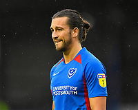 Christian Burgess of Portsmouth during Portsmouth vs Gillingham, Sky Bet EFL League 1 Football at Fratton Park on 12th October 2019