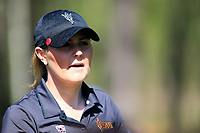 Olivia Mehaffey (NIR) on the 10th during the second round of the Augusta National Womans Amateur 2019, Champions Retreat, Augusta, Georgia, USA. 04/04/2019.<br /> Picture Fran Caffrey / Golffile.ie<br /> <br /> All photo usage must carry mandatory copyright credit (&copy; Golffile | Fran Caffrey)