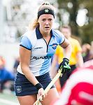 AMSTELVEEN - Maartje van der Vis (Hurley)  .Hoofdklasse competitie dames, Hurley-HDM (2-0) . FOTO KOEN SUYK