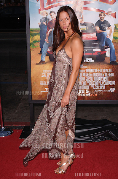 Actress RHONA MITRA at the Los Angeles premiere of The Dukes of Hazzard..July 28, 2005 Los Angeles, CA.© 2005 Paul Smith / Featureflash