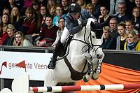ZUIDBROEK - Paardensport, ICCH Zuidbroek, springen internationaal Grote Prijs , 05-01-2019, Jur Vrieling met KM Chalcedon in de barrage