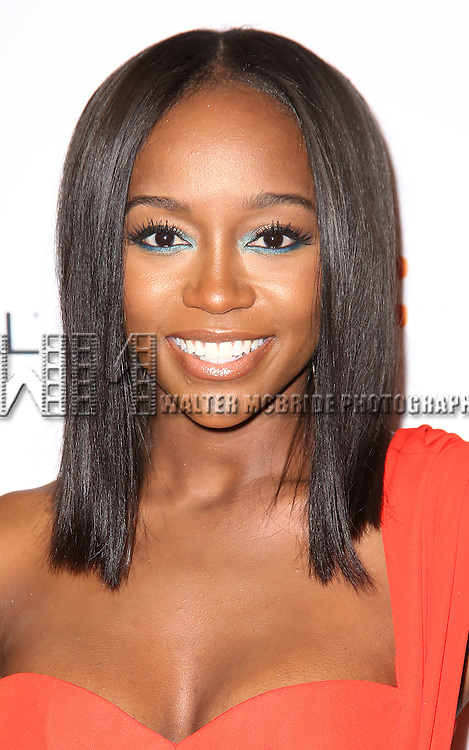 Aja Naomi King attends the 'The Birth of a Nation' Red Carpet Premiere during the 2016 Toronto International Film Festival premiere at Princess of Wales Theatre on September 9, 2016 in Toronto, Canada.