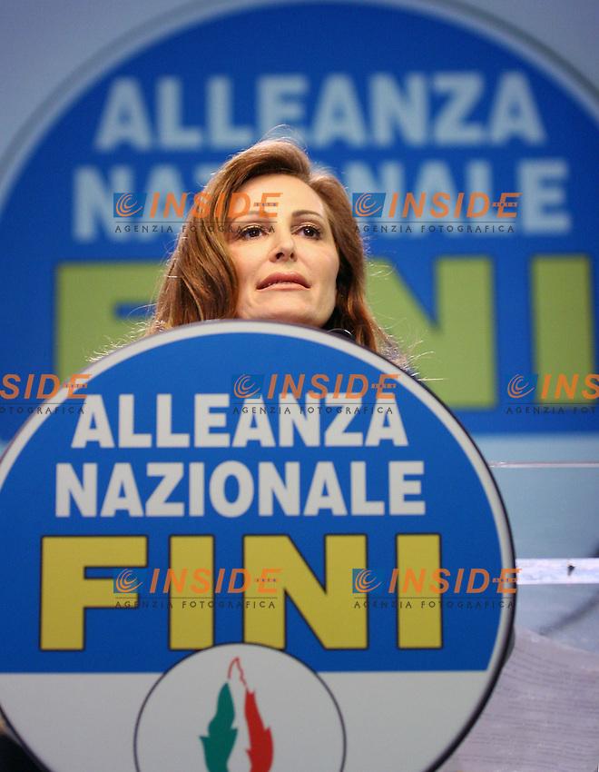 Roma 5/2/2006 Fiera di Roma. Terza Conferenza programmatica di Alleanza Nazionale.<br /> Nela foto Daniela Santanche'<br /> Photo Serena Cremaschi Insidefoto