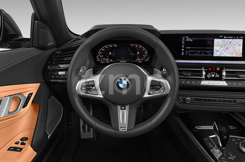 Car pictures of steering wheel view of a 2019 BMW Z4 M-Performance 2 Door Convertible Steering Wheel
