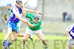Aidan Boyle Ballyduff v Darren Dineen  Saint Brendans on the Semi finals of the County Senior Hurling County Championship at Austin Stack Park, Tralee, on Sunday.