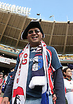18 November 2007: A New England fan. The Houston Dynamo defeated the New England Revolution 2-1 at RFK Stadium in Washington, DC in MLS Cup 2007, Major League Soccer's championship game.
