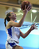 Samantha Muller #23 of North Babylon scores on a lay up during a non-league girls basketball game against St. John the Baptist at Robert Moses Middle School in North Babylon on Saturday, Dec. 22, 2018. She scored 26 points in North Babon's 71-61 win.