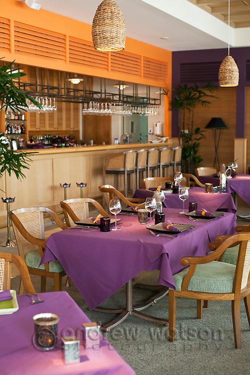 Tamarind Restaurant at the Reef Hotel Casino.  Cairns, Queensland, Australia