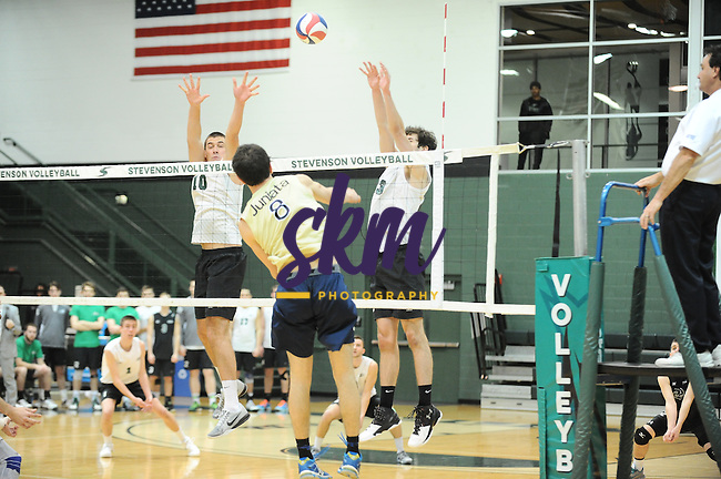 Stevenson men's volleyball took a 3-0 victory over Juanita on Friday night at Owings Mills gymnasium in straight sets of (20-25), (14-25) and (16-25).