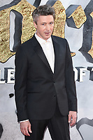 Aiden Gillen at the European premiere for &quot;King Arthur: Legend of the Sword&quot; at the Cineworld Empire in London, UK. <br /> 10 May  2017<br /> Picture: Steve Vas/Featureflash/SilverHub 0208 004 5359 sales@silverhubmedia.com
