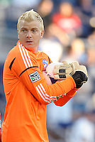 Kevin Hartman FC Dallas goalkeeper... Sporting KC defeated FC Dallas 2-1 at LIVESTRONG Sporting Park, Kansas City, Kansas.