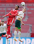 v.l. Jean-Paul Boetius (Mainz), Maximilian Eggestein<br /><br />Sport: Fussball: 1. Bundesliga:: nphgm001:  Saison 19/20: 33. Spieltag: 1. FSV Mainz 05 vs SV Werder Bremen 20.06.2020<br />Foto: Wagner/Witters/Pool//via gumzmedia/nordphoto<br /><br /><br /> DFL REGULATIONS PROHIBIT ANY USE OF PHOTOGRAPHS AS IMAGE SEQUENCES AND OR QUASI VIDEO<br />EDITORIAL USE ONLY<br />NATIONAL AND INTERNATIONAL NEWS AGENCIES OUT