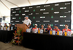 KONA, HAWAII - OCTOBER 12:  during the Professional Athlete Press Conference at the 2017 IRONMAN World Championships on October 12, 2017 in Kona, Hawaii. (Photo by Donald Miralle for IRONMAN)