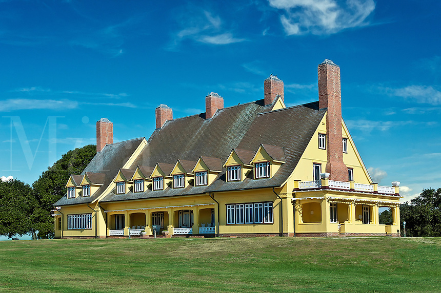 Whalehead Club Historic House Museum, Corolla, Outer Banks, North Carolina, USA