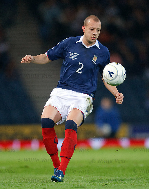 Alan Hutton, Scotland