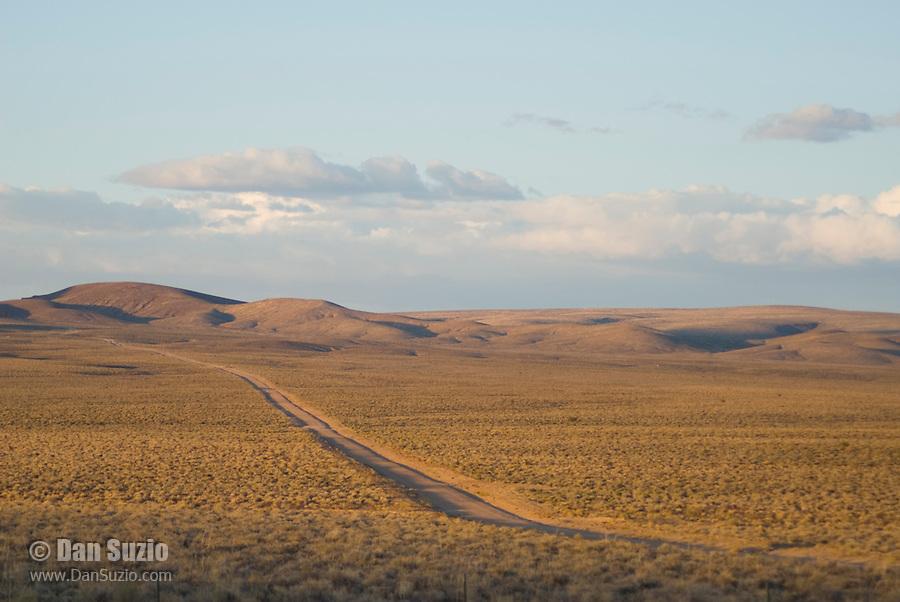 Dirt road near Beatty, Nevada