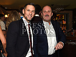 Mark Gorman and Ollie Leavy  at St Mary's GFC awards dinner in Muldoons. Photo:Colin Bell/pressphotos.ie