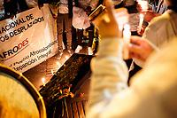 BOGOTA - COLOMBIA, 26-07-2019: Cientos de personas se reunieron para marchar en contra del asesinato de lideres sociales y exigiendo la protección de estos/ Hundreds of people gathered to march against the murder of social leaders and demanding the protection of them . Photo: VizzorImage / Diego Cuevas / Cont