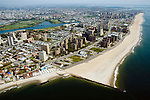 Aerial view of Coney Island, New york