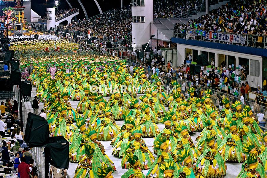Desfile de carnaval em São Paulo. 2007. Foto de Caetano Barreira.