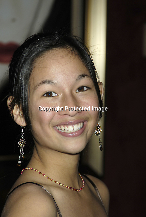"Actress Zoe Weizenbaum ..arriving at The New York Premiere of ""Memoirs Of A Geisha""  on December 6. 2005 at The Ziegfeld Theatre...Photo by Robin Platzer, Twin Images.."