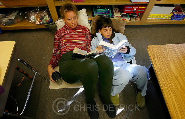 Salt Lake City, Utah --10/31/2005--11:20:58 AM..The open classroom program at Wash. which has been around for 30 years is now trying to become it's own independent district charter school. The story also focuses on another application for a district charter school related to Highland High. If approved these would be the first distirct charter schools in SLC. ...Photo by: Chris Detrick/The Salt Lake Tribune.File #Charter School CD 05