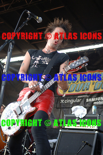 Joan Jett; 2006 Warped Tour;<br /> Photo Credit: Eddie Malluk/AtlasIcons.com
