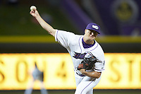 Winston-Salem Dash relief pitcher Will Kincanon (27) in action against the Frederick Keys at BB&T Ballpark on April 26, 2019 in Winston-Salem, North Carolina. The Keys defeated the Warthogs 7-0. (Brian Westerholt/Four Seam Images)