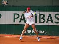 ALEXANDRA DULGHERU (ROU)<br /> <br /> TENNIS - FRENCH OPEN - ROLAND GARROS - ATP - WTA - ITF - GRAND SLAM - CHAMPIONSHIPS - PARIS - FRANCE - 2016  <br /> <br /> <br /> <br /> &copy; TENNIS PHOTO NETWORK