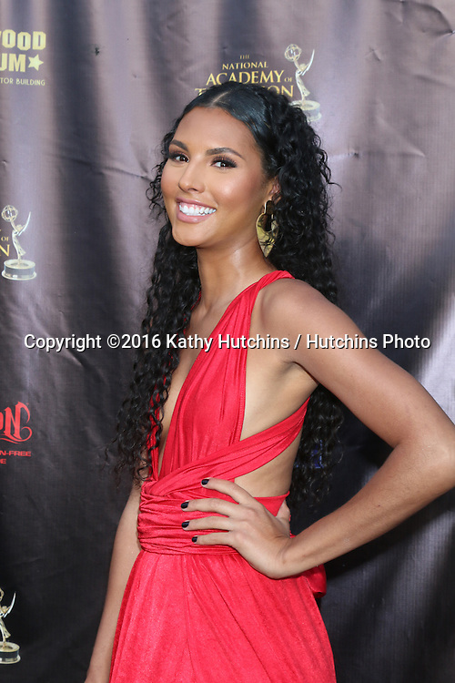 LOS ANGELES - APR 27:  Felisha Cooper at the 2016 Daytime EMMY Awards Nominees Reception at the Hollywood Museum on April 27, 2016 in Los Angeles, CA
