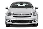 Straight front view of a 2010 Citroen C5 Confort 4 Door Sedan 2WD