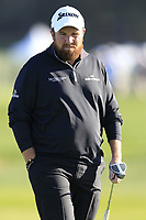 Shane Lowry (IRL) on the 6th green during Sunday's Final Round of the 2018 AT&amp;T Pebble Beach Pro-Am, held on Pebble Beach Golf Course, Monterey,  California, USA. 11th February 2018.<br /> Picture: Eoin Clarke | Golffile<br /> <br /> <br /> All photos usage must carry mandatory copyright credit (&copy; Golffile | Eoin Clarke)
