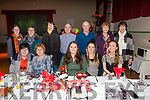 Pictured at Foilmore Community Centre fund raising Biddy Boston Tea Party on Friday night were front l-r; Mary O'Sullivan, Mary Lucey, Kate Daly, Mollie Riordan, Celine O'Shea, back l-r; Niamh Curran, Bernie Curran, Mary Moran, John Curran, Gerry Moran, Eileen O'Shea & Kathleen Wharton.