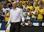 15.05.2018, EWE Arena, Oldenburg, GER, BBL, Playoff, Viertelfinale Spiel 4, EWE Baskets Oldenburg vs ALBA Berlin, im Bild<br /> da lang<br /> Mladen DRJENCIC (EWE Baskets Oldenburg #Headcoach, #Coach, #Trainer)<br /> Foto &copy; nordphoto / Rojahn