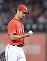 Yu Darvish (Rangers),<br /> MAY 16, 2014 - MLB :<br /> Pitcher Yu Darvish of the Texas Rangers during the Major League Baseball game against the Toronto Blue Jays at Globe Life Park in Arlington in Arlington, Texas, United States. (Photo by AFLO)
