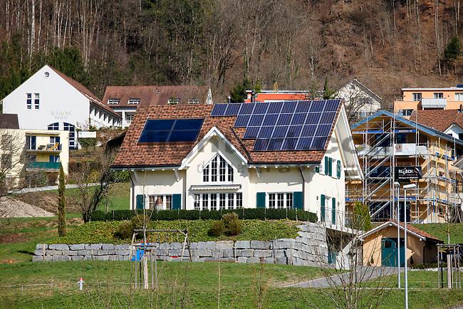 Sonnenenergie , Solarenergie, solar energy, Triesen, Liechtenstein