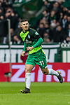 10.02.2019, Weserstadion, Bremen, GER, 1.FBL, Werder Bremen vs FC Augsburg<br /><br />DFL REGULATIONS PROHIBIT ANY USE OF PHOTOGRAPHS AS IMAGE SEQUENCES AND/OR QUASI-VIDEO.<br /><br />im Bild / picture shows<br />Milot Rashica (Werder Bremen #11), <br /><br />Foto &copy; nordphoto / Ewert