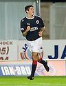 21/09/2010   Copyright  Pic : James Stewart.sct_jsp011_falkirk_v_hearts  .:: RYAN FLYNN CELEBRATES AFTER HE SCORES FALKIRK'S THIRD :: .James Stewart Photography 19 Carronlea Drive, Falkirk. FK2 8DN      Vat Reg No. 607 6932 25.Telephone      : +44 (0)1324 570291 .Mobile              : +44 (0)7721 416997.E-mail  :  jim@jspa.co.uk.If you require further information then contact Jim Stewart on any of the numbers above.........