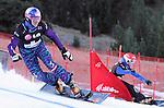 10.03.2012, La Molina, Spain. LG Snowboard FIS Wolrd Cup 2011-2012. Men's parallel giant slalom. Picture show Siegfried Grabner AUT