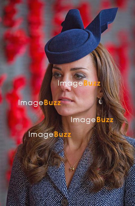 KATE, DUCHESS OF CAMBRIDGE AND PRINCE WILLIAM<br /> attended the ANZAC March and Commemorative Service honouring those members of the Australian and New Zealand Army Corps (ANZAC) who fought at Gallipoli.<br /> Canberra, Australia, 25.04.2014