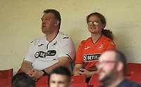 Swansea City fans prior to the Sky Bet Championship match between Sheffield United and Swansea City at Bramall Lane, Sheffield, England, UK. Saturday 04 August 2018