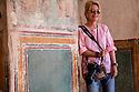 India,  Jaipur, photographer Jami Tarris in Jaipur City Palace