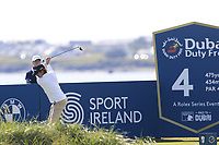 Pedro Figueiredo (POR) tees off the 4th tee during Thursday's Round 1 of the Dubai Duty Free Irish Open 2019, held at Lahinch Golf Club, Lahinch, Ireland. 4th July 2019.<br /> Picture: Eoin Clarke | Golffile<br /> <br /> <br /> All photos usage must carry mandatory copyright credit (© Golffile | Eoin Clarke)