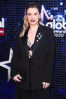 Ella Henderson<br /> arriving for the Global Awards 2020 at the Eventim Apollo Hammersmith, London.<br /> <br /> ©Ash Knotek  D3559 05/03/2020