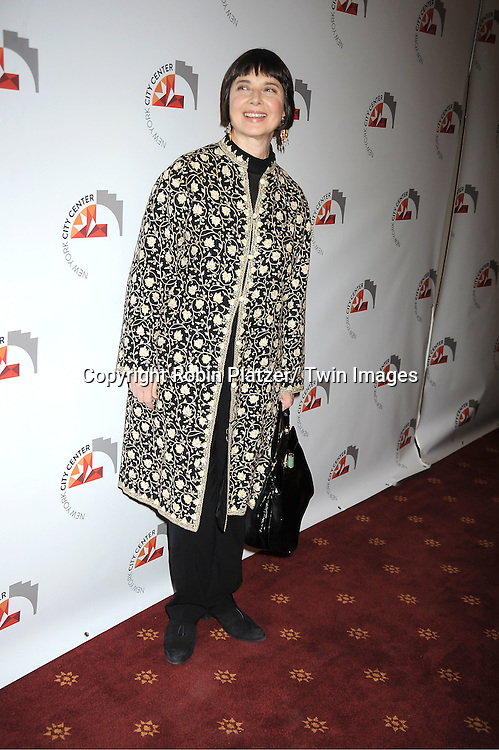 Isabella Rossellini attends the New York City Center Reopening on October 25, 2011 at City Center in New York City.