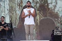 NITERÓI, RJ, 30.09.2018 - CANTA-NITERÓI - Dilsinho, durante Festival Canta Niterói, no Teatro Popular em Niterói região metropolitana do Rio de Janeiro neste domingo, 30. (Foto: Clever Felix/Brazil Photo Press)