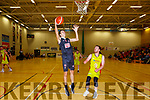 Marco Bencic Scotts Lakers drives to the basket against IT Carlow in Killarney on Sunday