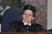 Esther Agelán Casasnovas, juez miembro de la  Segunda Sala Penal de la Corte de Apelación del DN.Fotos: Carmen Suárez/acento.com.do.Fecha: 12/07/2011.